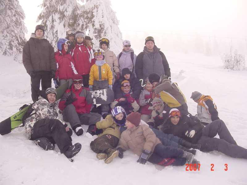 Obóz zimowy - Szrenica 2007