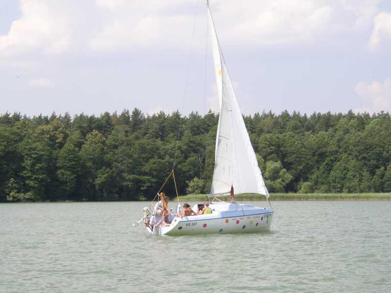 Obóz letni żeglarski - Mazury 2006
