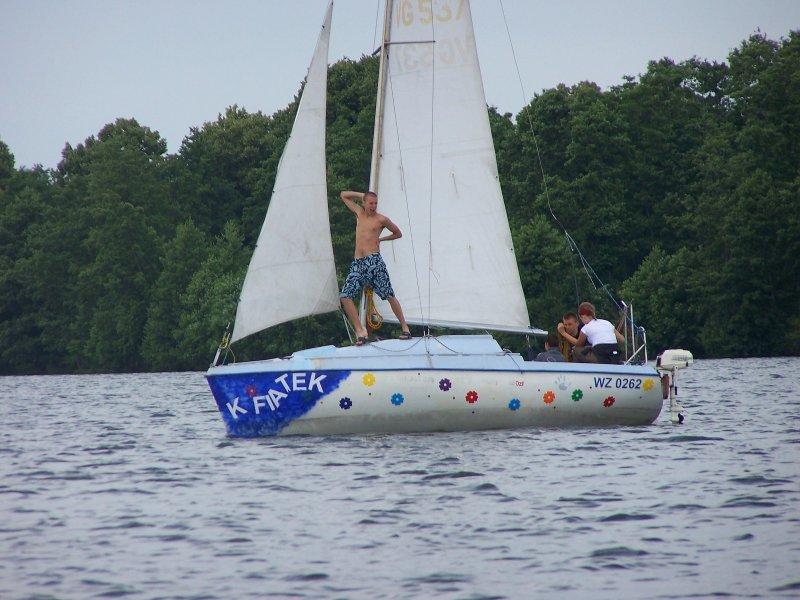 Obóz letni żeglarski - Mazury 2007