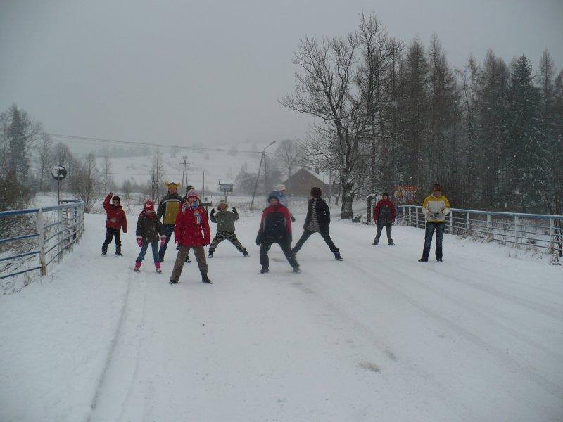 Obóz zimowy - Zawoja 2009